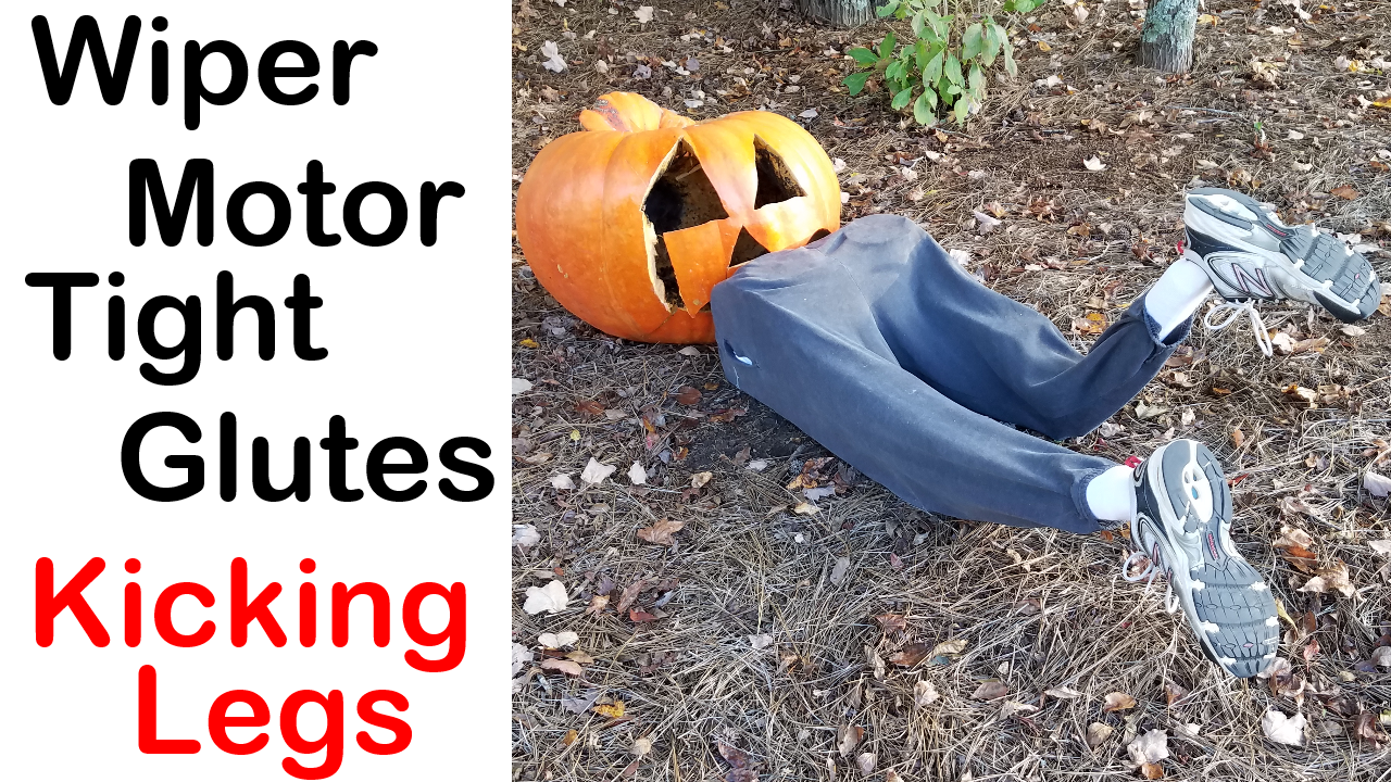 Kicking Legs Halloween Prop