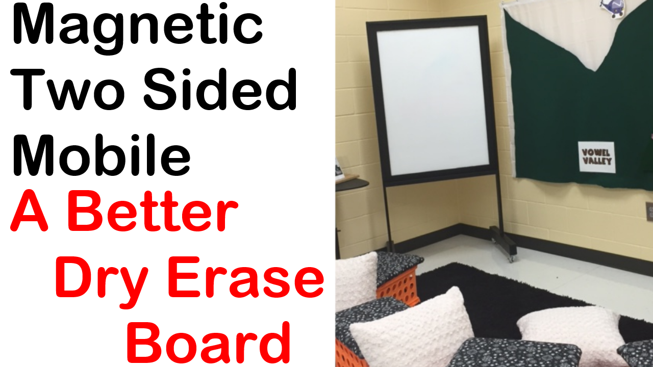 Better Double-Sided Magnetic White Board